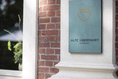 Eingang Alte Überfahrt Werder:Havel