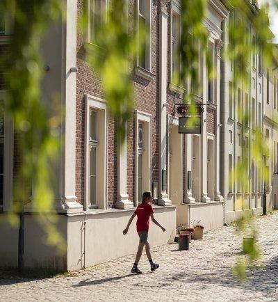 Fassade Alte Überfahrt Werder:Havel